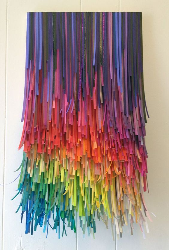 Paper Party Fade Rainbow by Bonnie Gammill