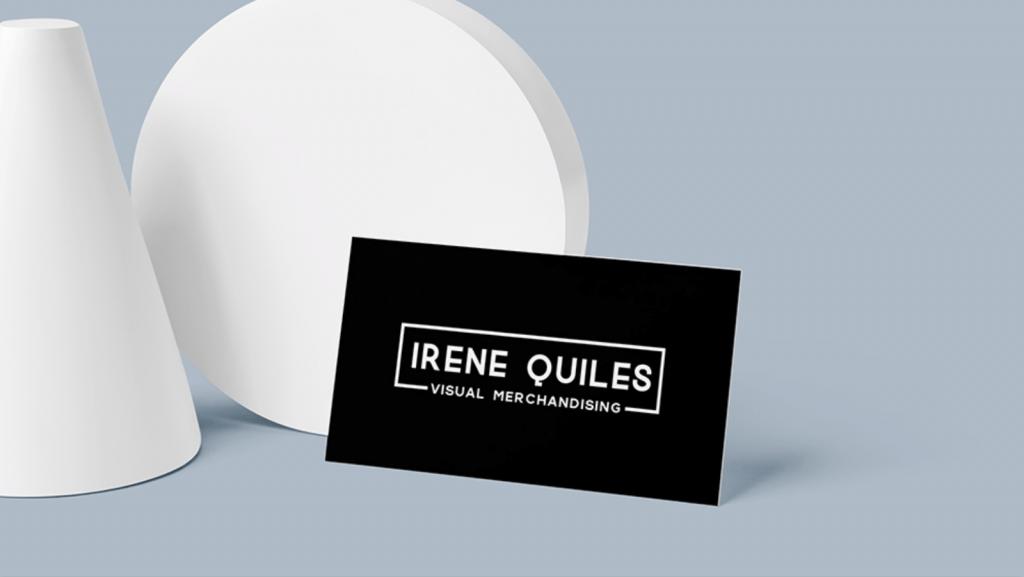 Irene Quiles tarjeta corporativa by La Suiza Estudio Creativo