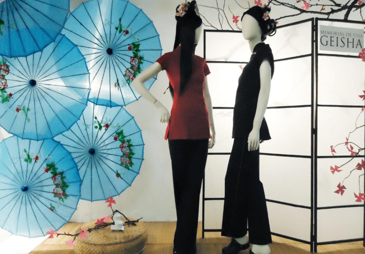 Escaparate oriental Memorias de una Geisha ARTIDI Barcelona