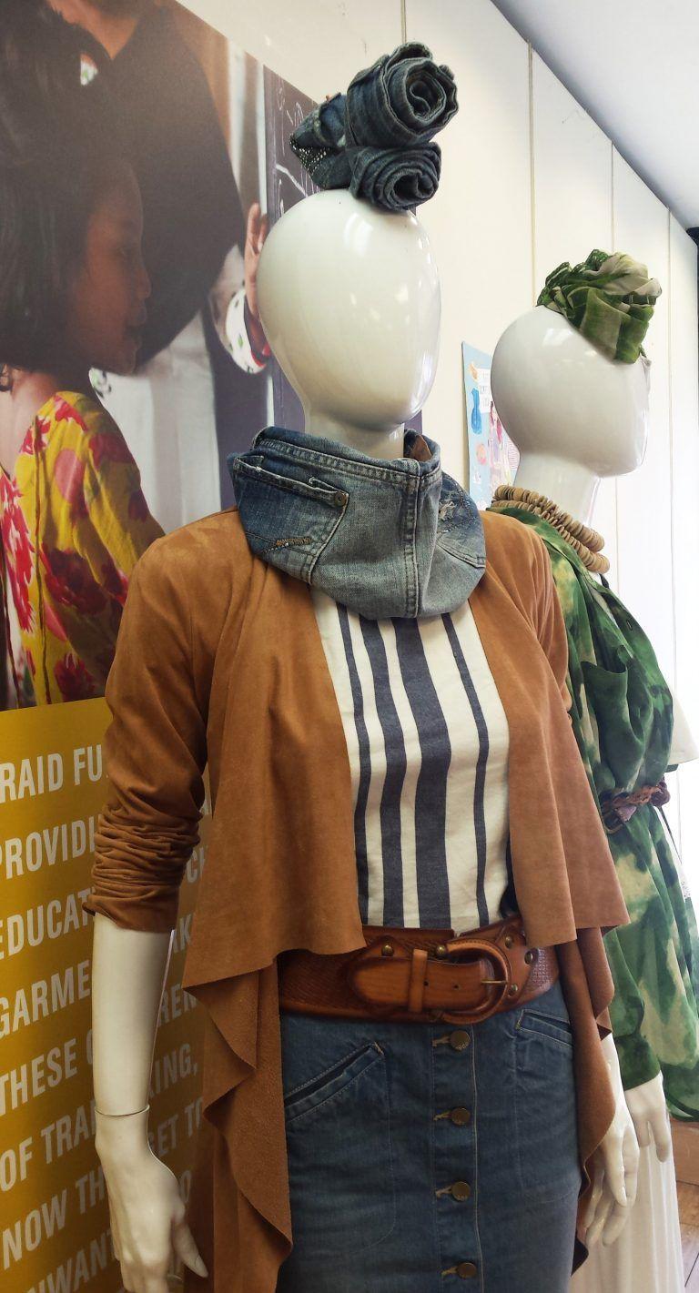 Estilismo maniquís moda TRAID Londres
