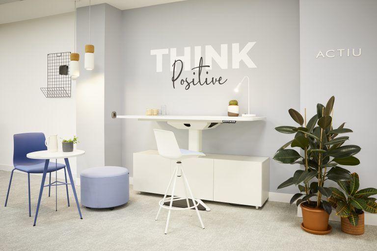 Showroom ACTIU Madrid mobiliario de oficina
