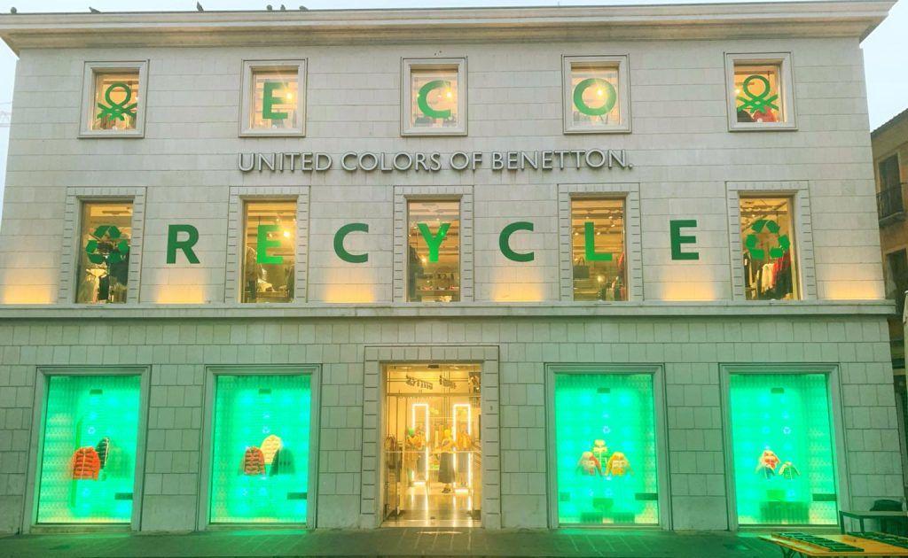 Benetton campaña sostenibilidad y medio ambiente, Italia