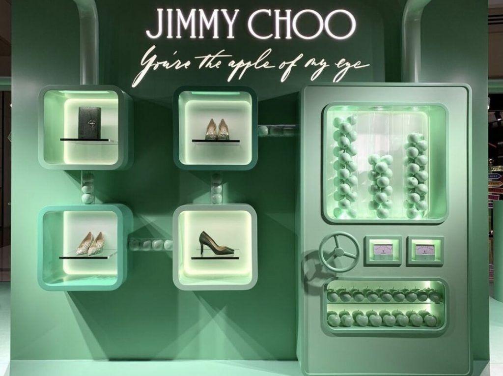 Jimmy Choo campaña San Valentín, China