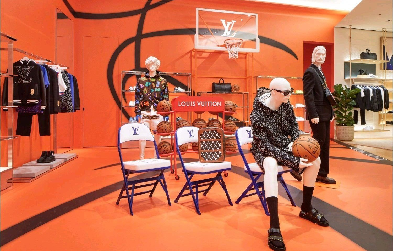 Louis Vuitton colaboración NBA