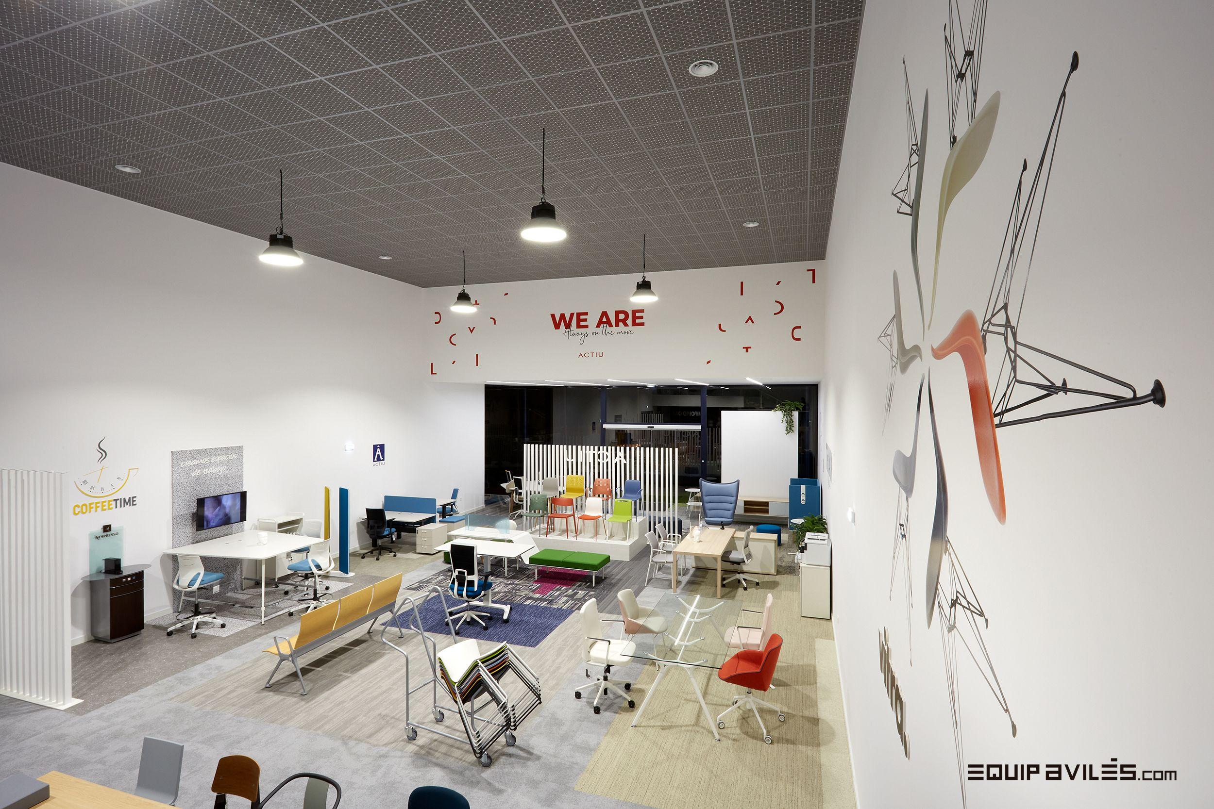 Showroom Cliente ACTIU Equiavilés