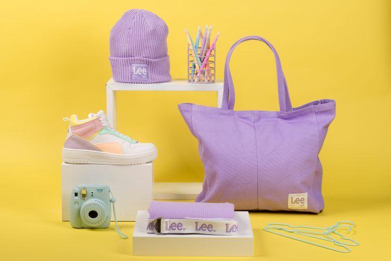 bodegón producto moda Lee x H&M fall winter collection 2021