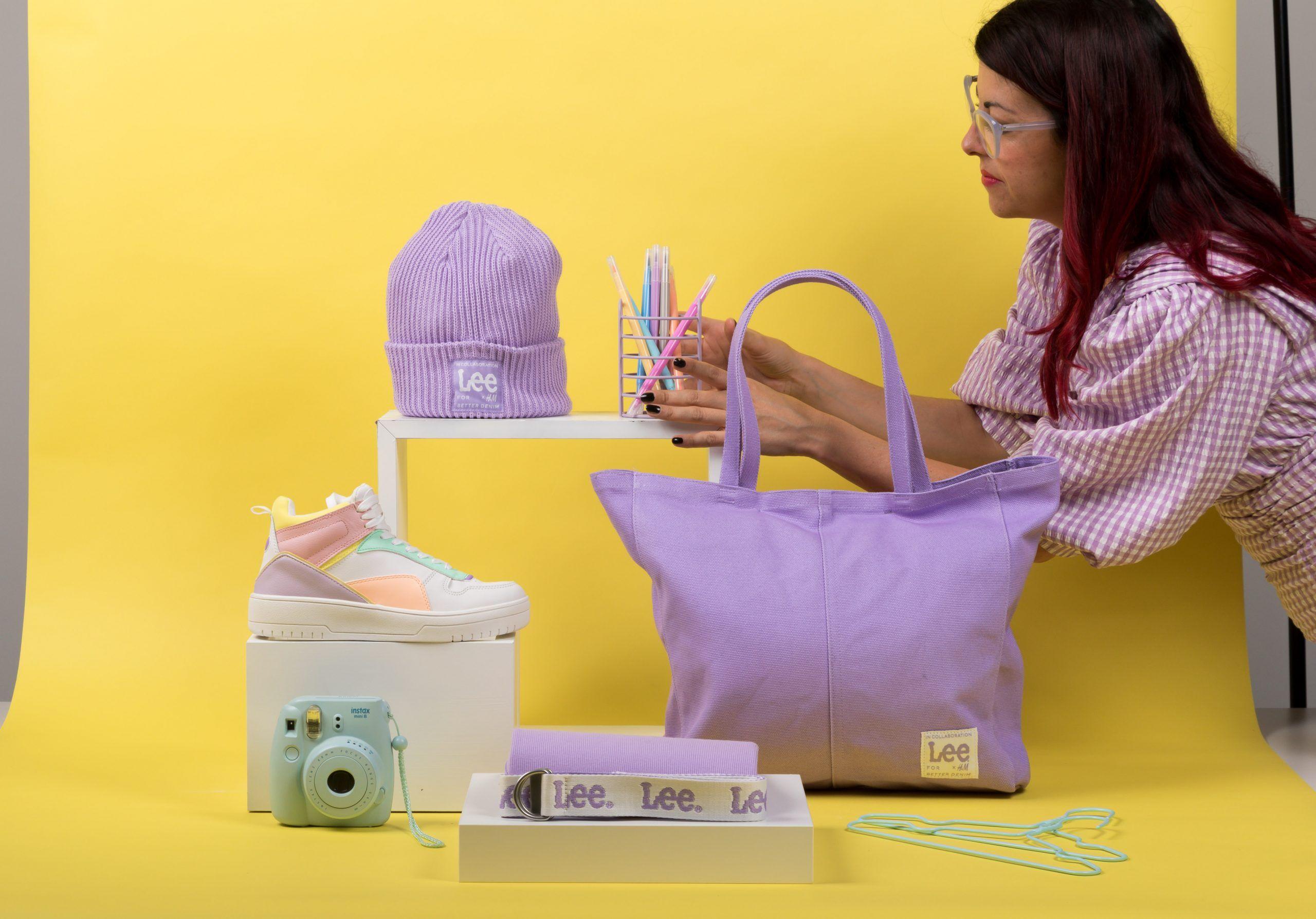 bodegón producto moda Lee x H&M fall winter collection 2021 4