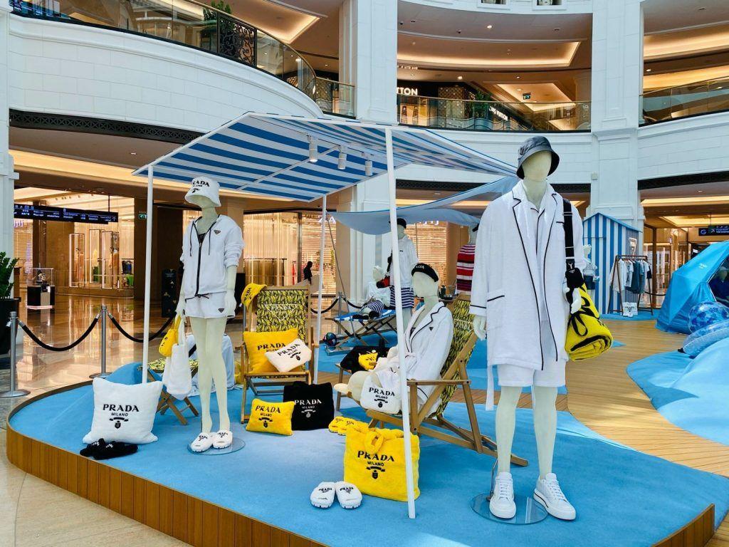 PRADA campaña de verano 2021, Dubai