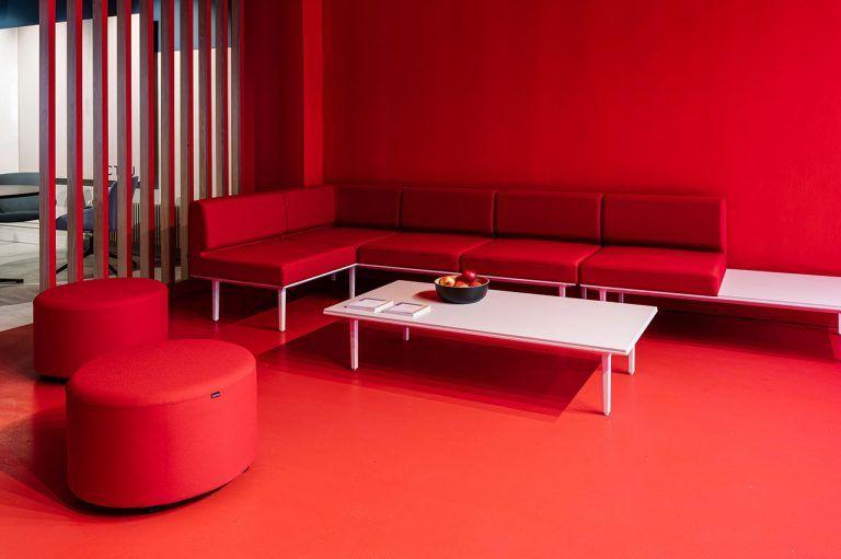 Showroom ACTIU París mobiliario oficina